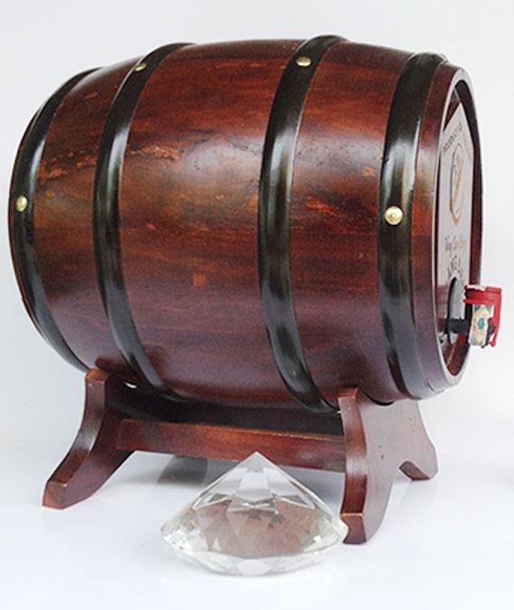 Rượu Vang Sim Rừng Măng Đen Thùng Trống 14%Vol