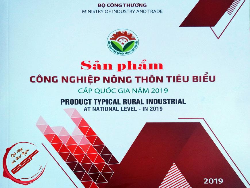 Nước ép trái sim rừng và Nước ép chanh dây đạt sản phẩm Công Nghiệp Nông Thôn Tiêu Biểu cấp quốc gia năm 2019