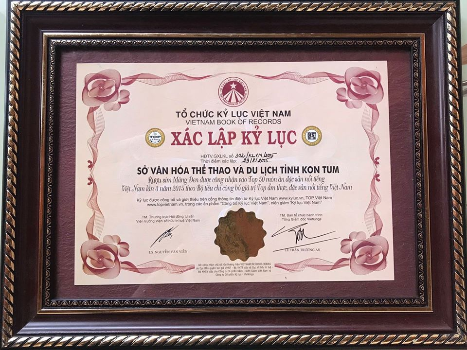 Rượu Sim Măng Đen - Khẳng định vị thế sản phẩm công nghiệp nông thôn